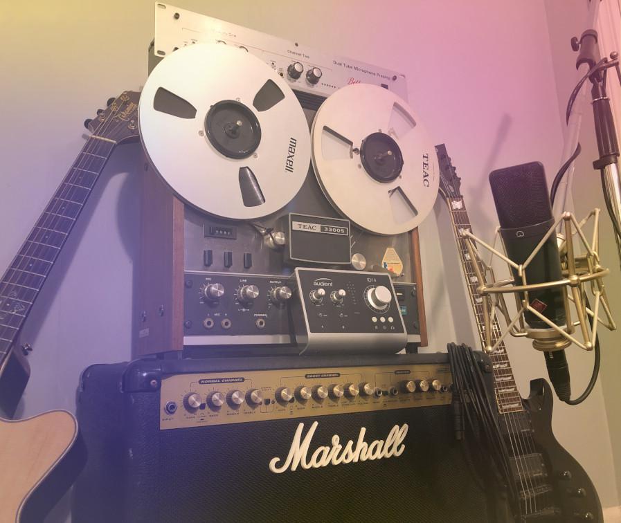 deco mixing logo recording equipment
